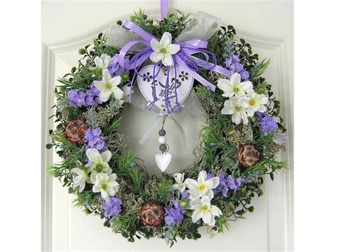 pin by jessica kranz on houses pinterest t 252 rkranz lavendel wandkranz kranz sommer lila von my home