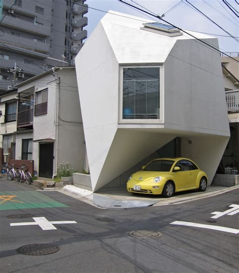 house car parking design ultra modern home design in tokyo futuristic origami