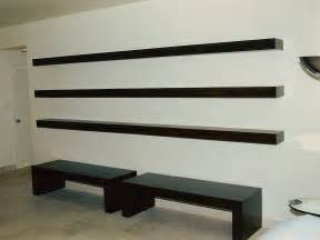 How To Attach A Bookshelf To A Wall Custom Floating Shelves By Ezequiel Rotstain Design