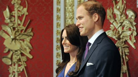 Wax Kate Unveiled by Kate And William Waxworks Unveiled Cnn