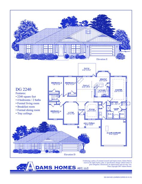 Adams Homes Floor Plans | simpleaffordablehouseplans30x68 joy studio design