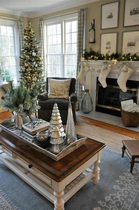 decorating coffee table for christmas ponterest home tour 2016 family room