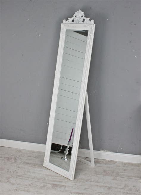 spiegel stand standspiegel wei 223 antik gro 223 180cm holz wandspiegel barock
