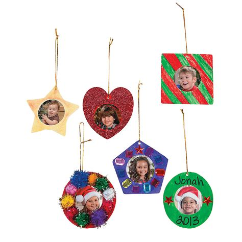 diy picture frame christmas ornaments oriental trading