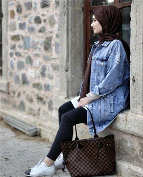 casual winter hijab   trendy girls