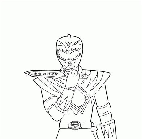 power rangers coloring book mmpr coloring pages coloring home