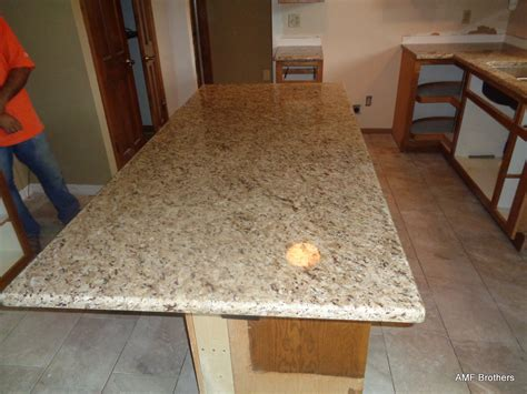 Granite Countertops Waukesha by Giallo Ornamental Gold Pewaukee Wi Amf Brothers