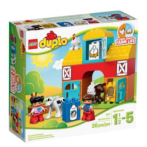 amazon lego amazon com lego duplo my first farm 10617 learning toy