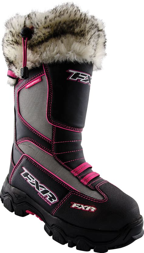 fxr womens excursion snowmobile boots new 2016 ebay