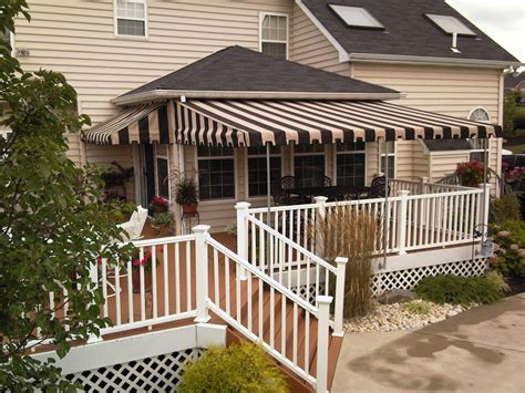 deck canopy awning residential globe canvas products