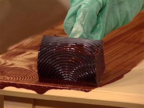 how to paint a faux wood finish how to paint a faux wood grain how tos diy