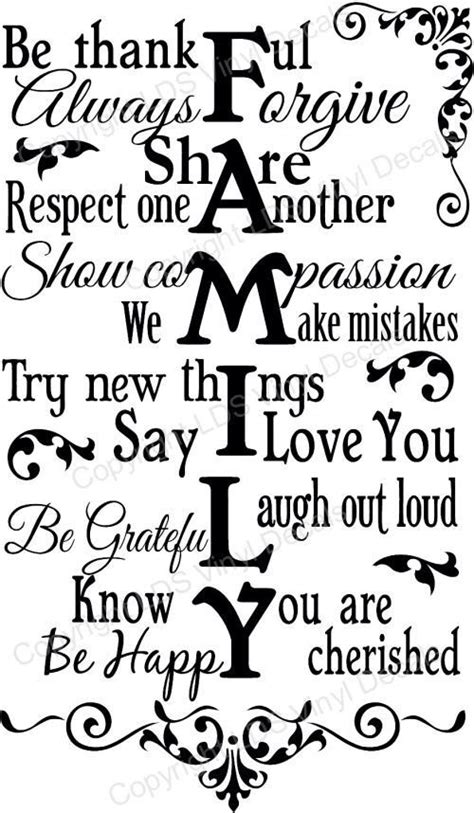 printable respect quotes be thankful always to your family family quotes