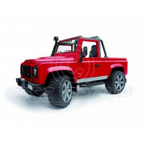 Bruder Toys 2591 Land Rover Defender Up bruder toys 02591 pro series land rover defender