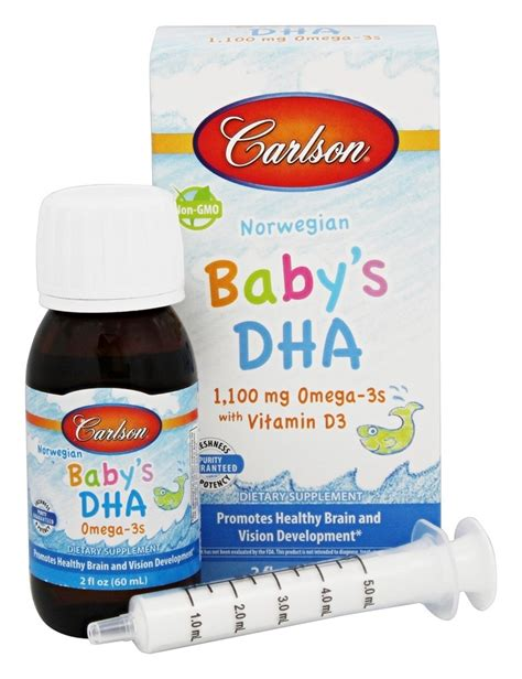 Prolacta With Dha For Baby 1 buy carlson labs baby s dha 2 oz at luckyvitamin