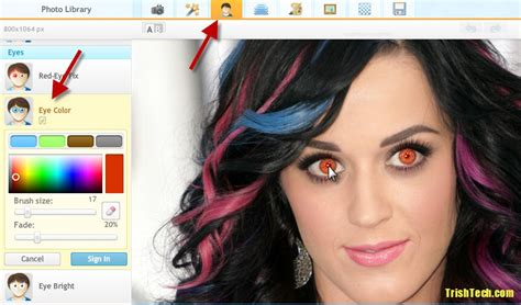 photo color editor how to change eye color in your photos with free