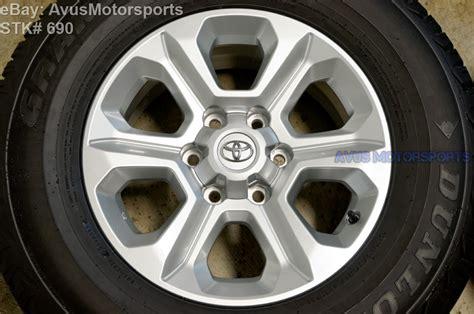 Toyota Oem Tires 2015 Toyota 4runner Oem Factory 17 Quot Trd Wheel Sr5 Dunlop