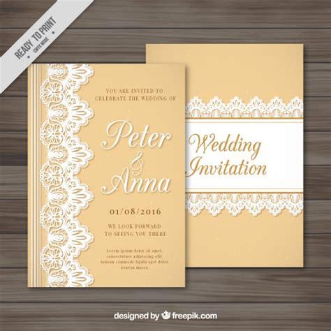 Spitzen Einladungen by Einladung Hochzeit Spitze Einladungskarten Einladung Zur