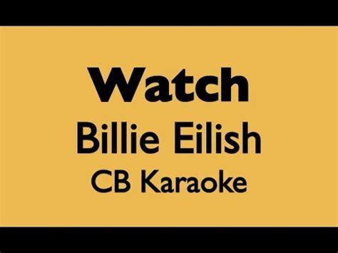 billie eilish watch chords watch billie eilish piano backing track doovi