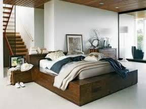 Diy Platform Bed With Steps Bedroom How To Make Diy Platform Wood Bed Frames With