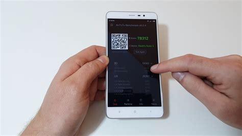 Terbaru Xiaomi Redmi Note 4x Snapdragon Gold Ram 3 32gb Terlaris xiaomi redmi note 3 pro snapdragon 650 benchmarks antutu