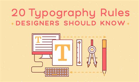 type layout rules 20 typography rules every designer should know creative