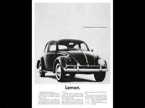volkswagen lemon volkswagen quot lemon quot