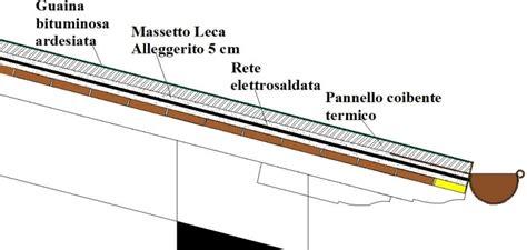 coibentare terrazzo tetto massetto cementizio e coibentazione termica come