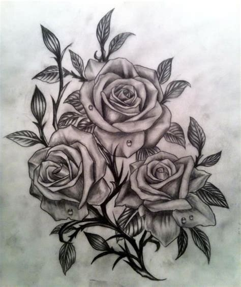black and grey rose tattoo pinterest realistic black and grey roses would make a great tattoo