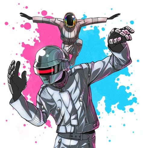 daft punk anime daft punk band zerochan anime image board