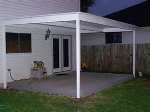 simple lean to attached awning bexar county
