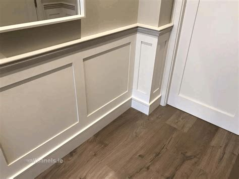 Shaker Style Wall Panelling Shaker Style Wall Panelling Fitted In Diswellstown Manor