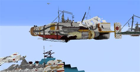 minecraft flying boat command shadows over midway minecraft project