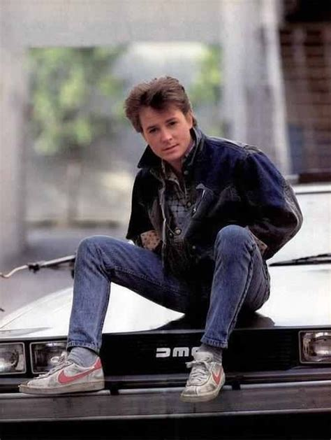 amazoncom back to the future michael j fox michael j fox as marty mcfly is seriously the cutest