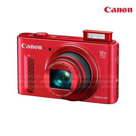 camara canon semiprofesional c 225 mara canon sx610 roja semiprofesional alkosto tienda