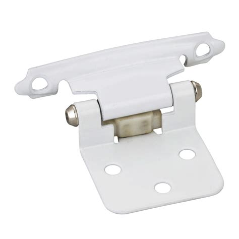 flush cabinet door hinges 10 pair white flush cabinet door hinges item p5011