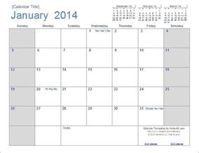 templates by vertex42 a new calendar design for 2014 and edit in