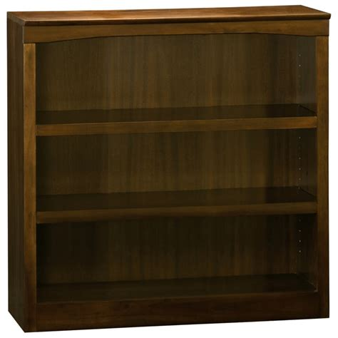 Wooden Bookcases With Adjustable Shelves 3 Tier Wooden Bookcase With Adjustable Shelves Dcg Stores