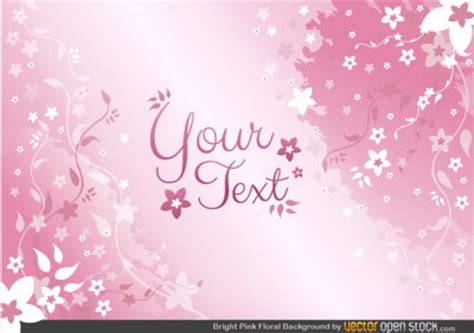 Girly Wallpaper Ai | girly floral background with petals vector free download