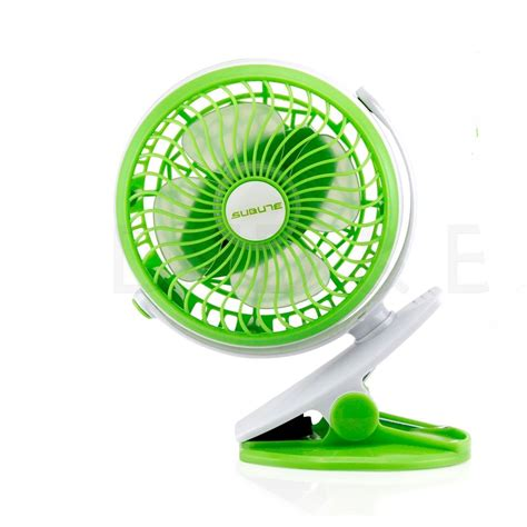 small battery fan with clip portable fan rechargeable battery mini oscillating