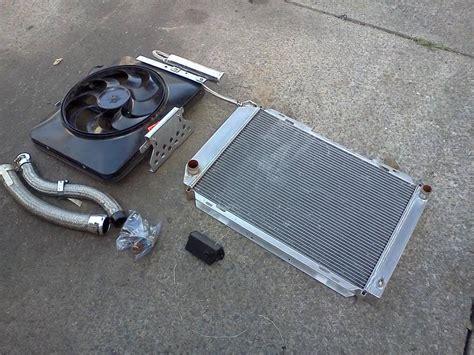 mustang electric fan controller fs 79 93 mustang fluidyne radiator with flex a lite