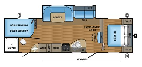 jayco trailer floor plans 2017 jay flight slx travel trailer floorplans prices