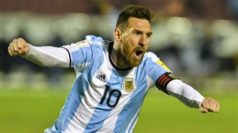 argentina s messi ah magnificent lionel messi saves the