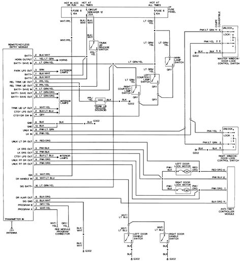 93 lincoln town car remote start wiring diagram 47
