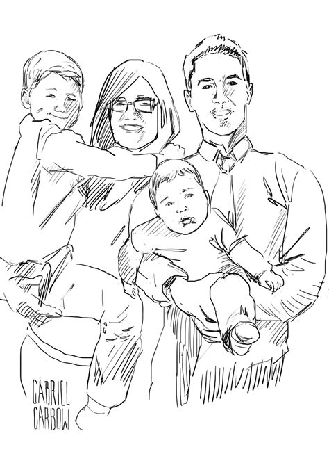 family portrait coloring page family portrait pages printable coloring pages
