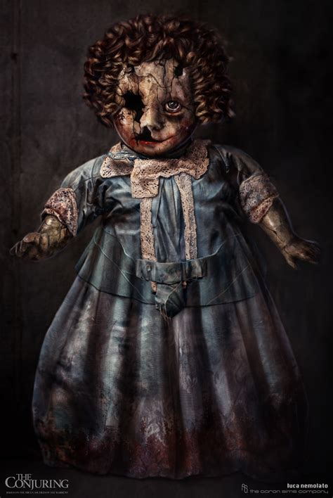 the conjuring 2 annabelle doll the conjuring alternate designs for annabelle the doll