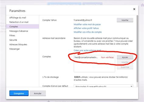 yahoo mail zweite email adresse comment ajouter un compte email pour son blog 224 yahoo email