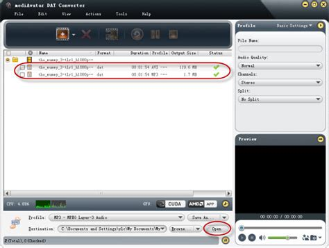 format video dat how to convert dat files to avi mp3 mp4 wmv format
