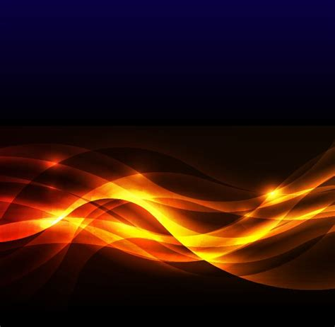 golden glow of abstract golden glow background vector illustration free