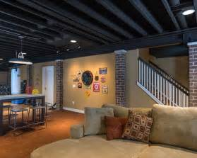 Bedroom Redo On A Budget Basements Contemporary Basement Detroit By Terry