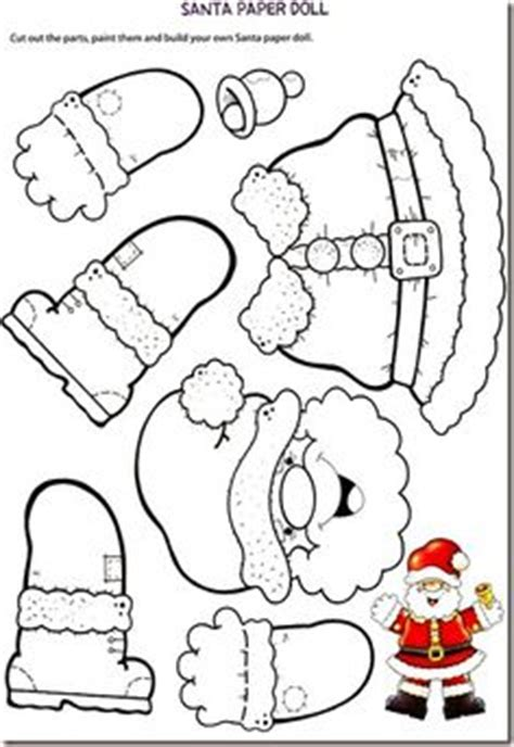 santa claus craft template letter to santa this one is because you can color it